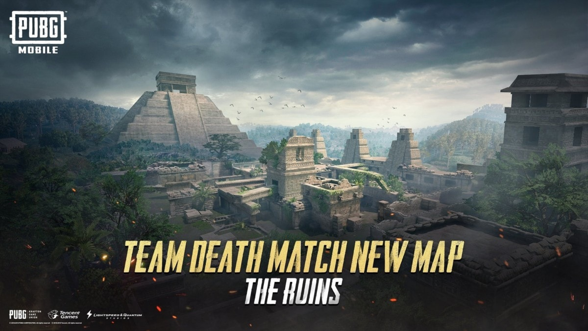 Pubg Mobile 0155 Update To Bring New Map Called The Ruins