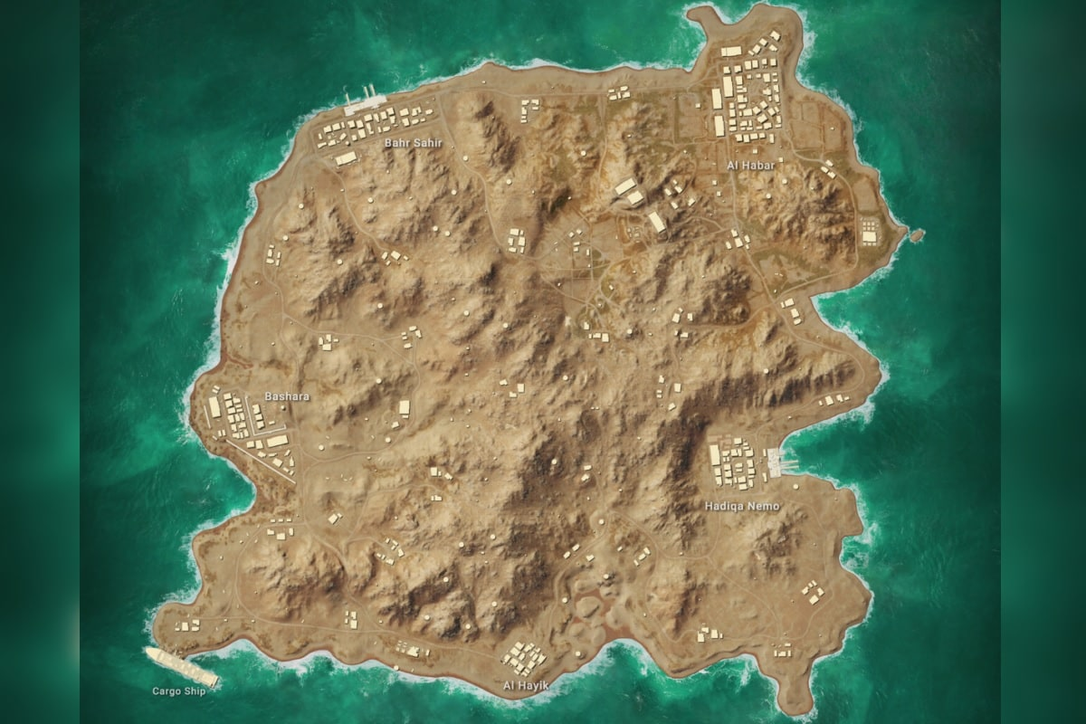 pubg map Karakin