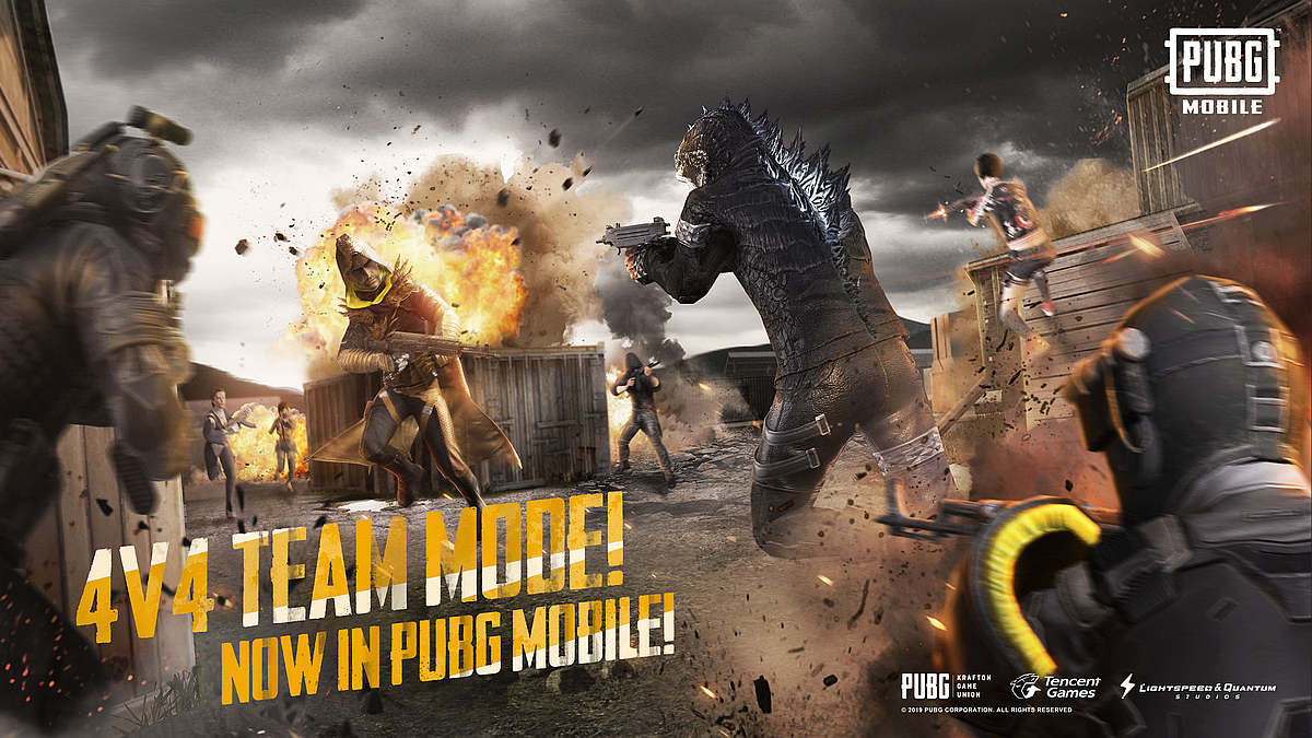 Pubg mobile 0.13.0 New update Or godzilla theme