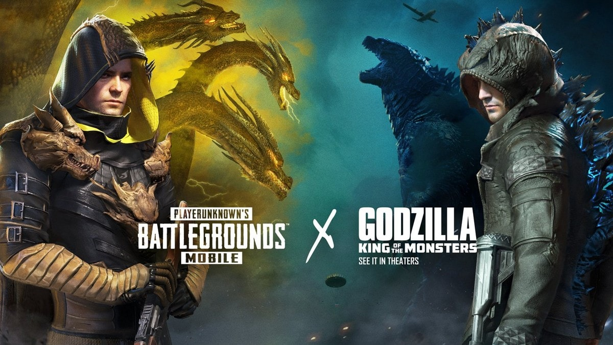 PUBG Mobile x Godzilla: King of the Monsters Crossover - New