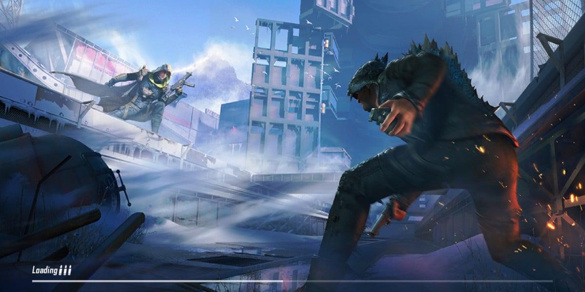 pubg mobile godzilla laod screen PUBG Godzilla