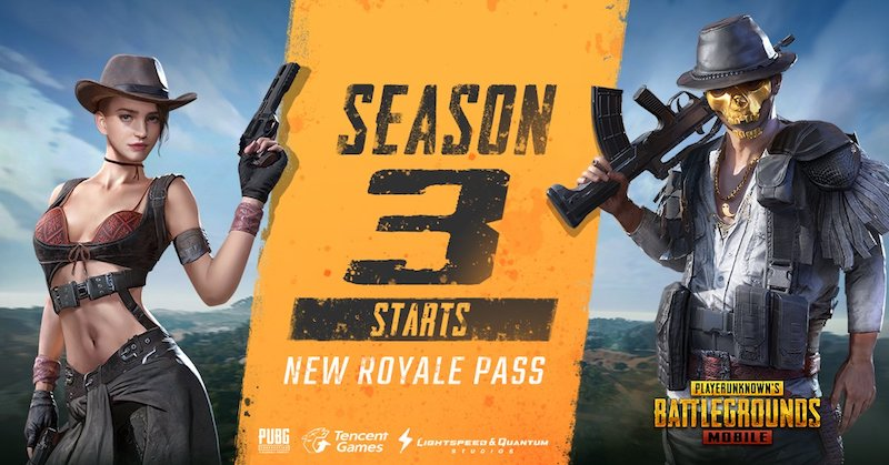 PUBG Mobile Season 3 Now Live With New Royale Pass