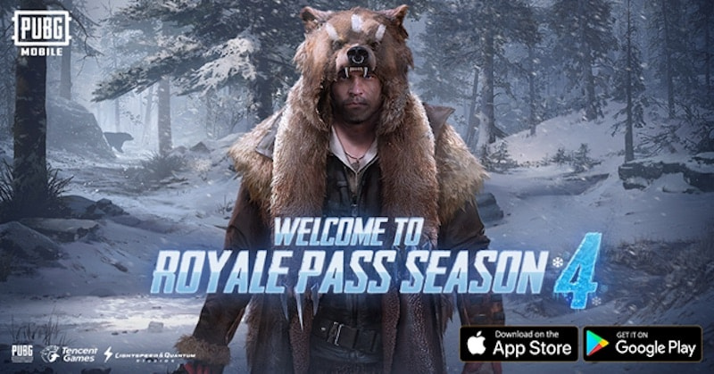 PUBG Mobile Royale Pass Season 4: Full patch notes revealed