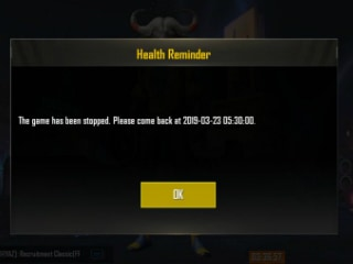 PUBG Mobile Ban: 'Health Reminder' Spotted In-Game, Limits Play Time of Indian Users