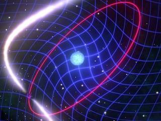 A Spinning Binary Radio Pulsar Proves Einstein's Theory