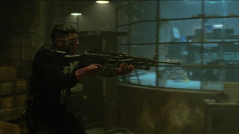 punisher machine gun Netflix