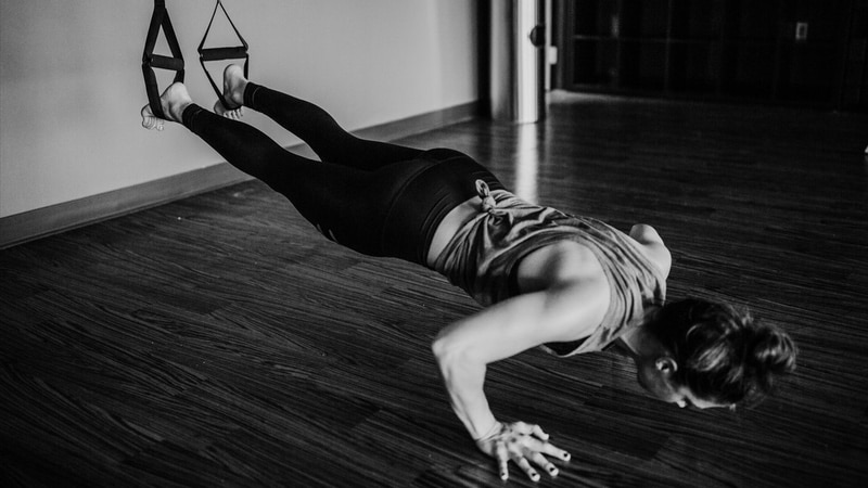 pushups trx unsplash Fitness