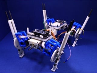 New Quadruped Robot Can Change Steps With Speed