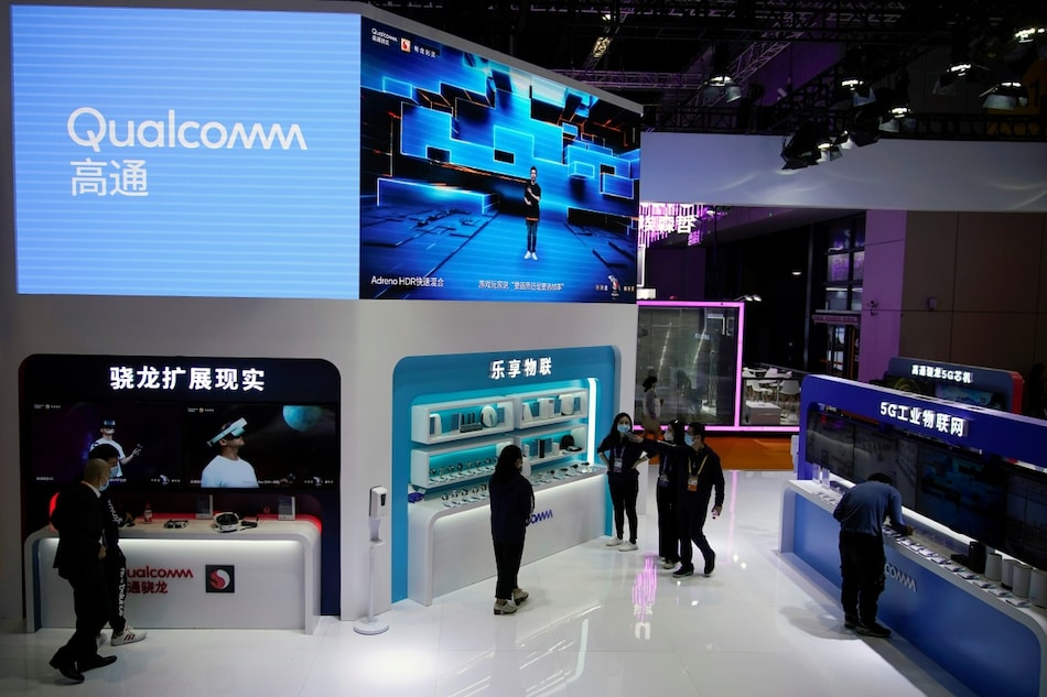 Qualcomm to Acquire Chip Startup Nuvia in $1.4 Billion Deal, Eyes Challenge to Apple, Intel