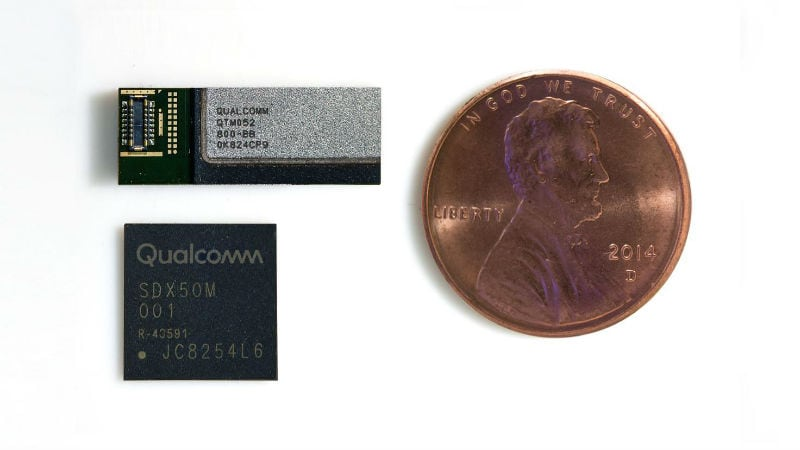 Qualcomm Unveils 5G Millimetre Wave Antenna Designed for Next Year's Smartphones
