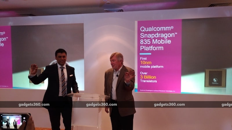 Snapdragon 835-Powered Smartphones Coming to India, Says Qualcomm India Head