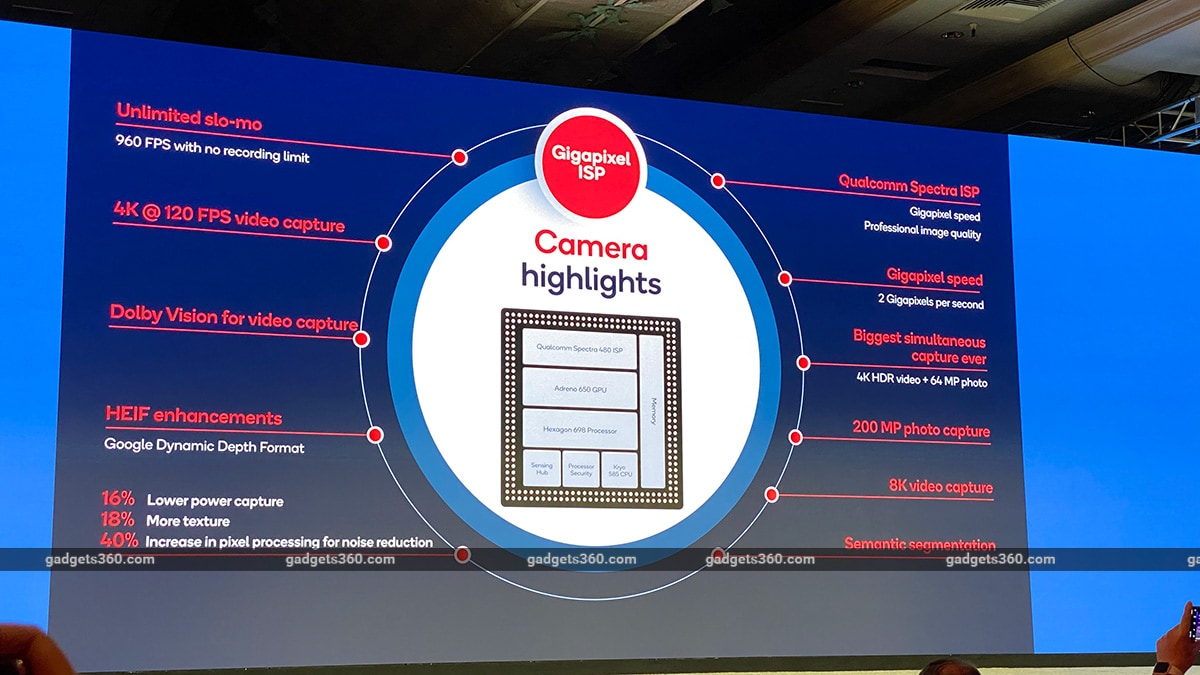 qualcomm snapdragon 865 camera cover qualcomm