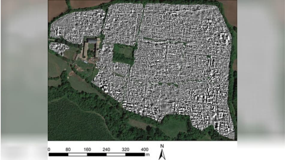 Radar Reveals Splendour of Ancient Roman City in Remarkable Detail