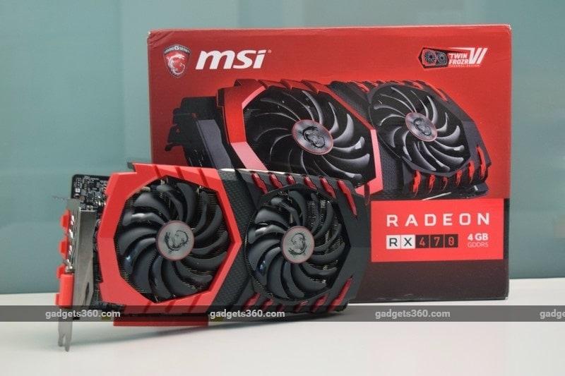 MSI Radeon RX 470 Gaming X Review | NDTV Gadgets360 com