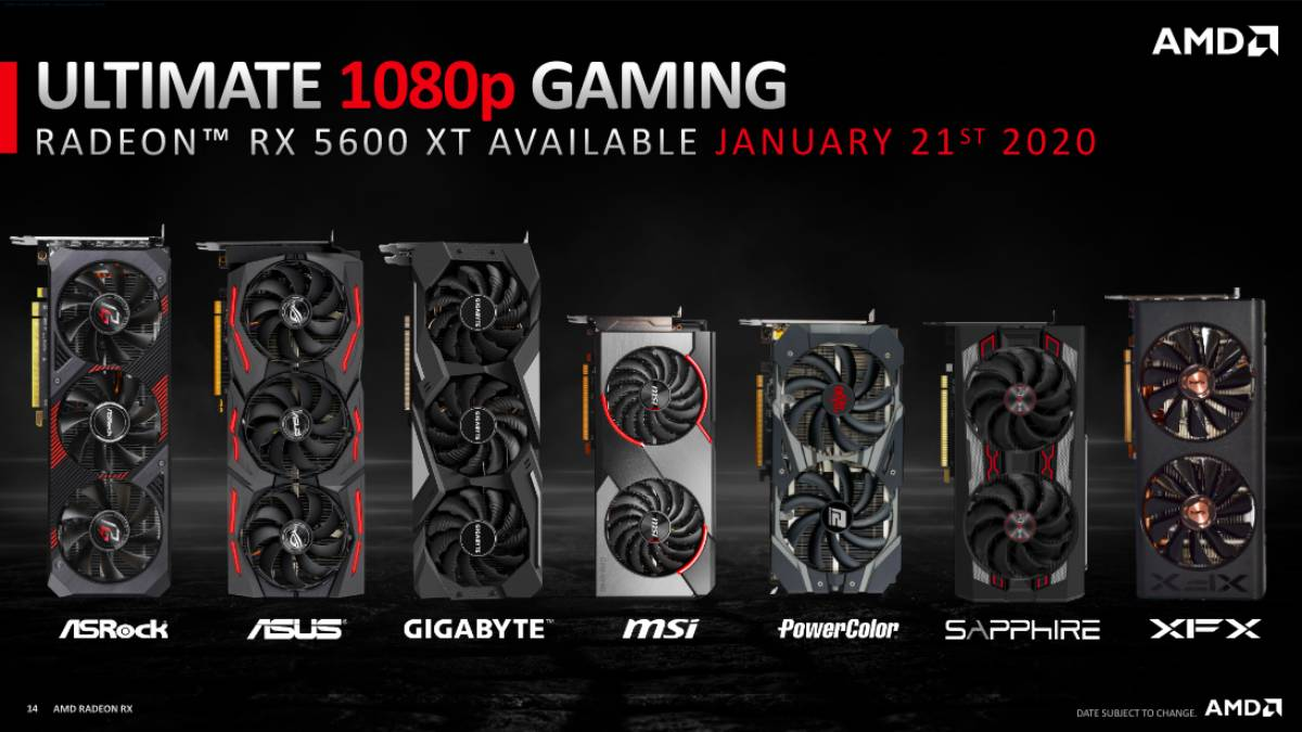 AMD Radeon RX 5600 XT 'Ultimate 1080p Gaming' GPU Launched: Prices, Specifications, Performance