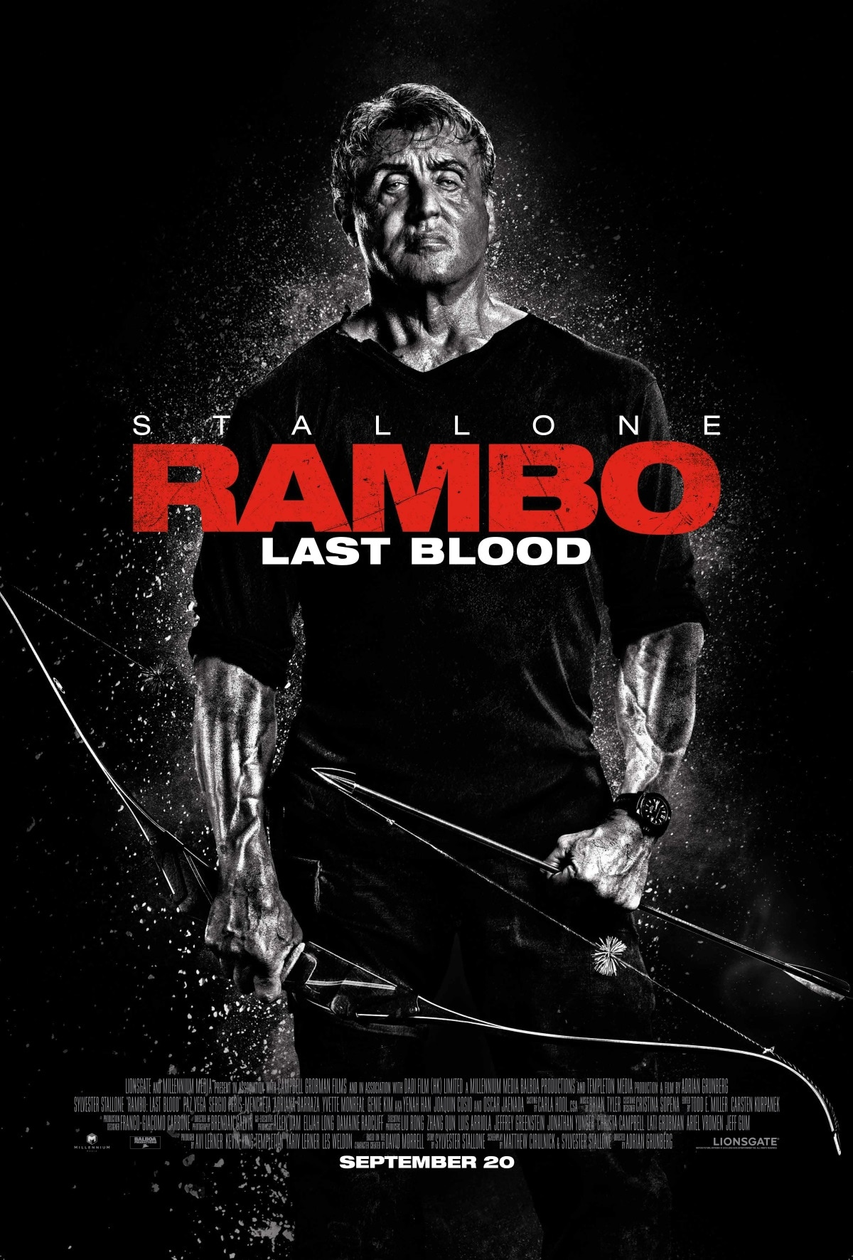 rambo poster Rambo Last Blood