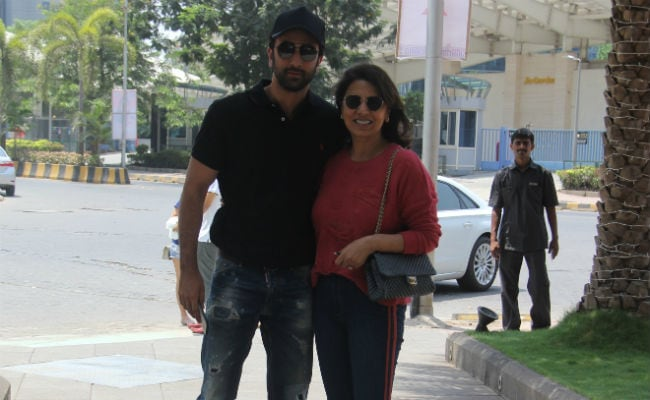 On Mother's Day, Ranbir Kapoor Took Mom Neetu Kapoor For A Lunch Date. See Pics