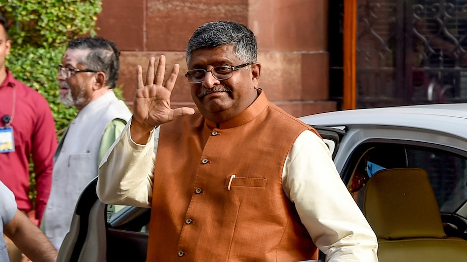 Government Plans to Rework IT Act to Meet New Challenges, Ravi Shankar Prasad Says