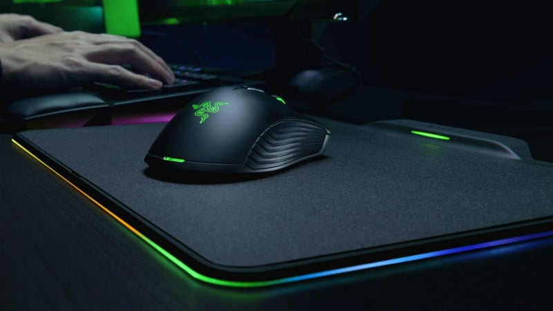 razer mamba hyperflux Razer Mamba HyperFlux mouse and Razer Firefly HyperFlux mouse pad
