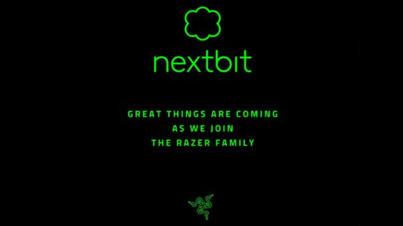 Razer Acquires Nextbit, Sale of Nextbit Robin Halted