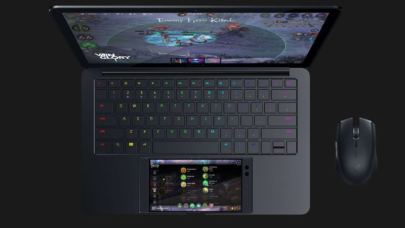 Razer unveils 'Project Linda' Android laptop to dock smartphone
