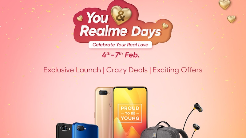 You and Realme Days Sale Today: Realme 2 Pro, Realme C1 Discounts, Freebies, and More