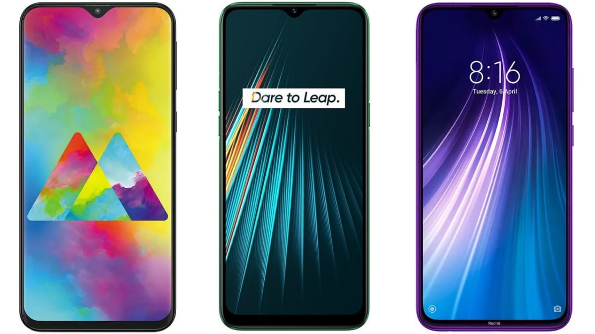 Realme 5i vs Redmi Note 8 vs Samsung Galaxy M20: Price in India, Specifications Compared