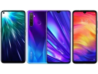 Realme 5 Pro vs Vivo Z1 Pro vs Redmi Note 7 Pro: Price in India, Specifications Compared