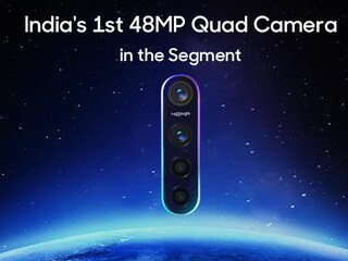 Realme 5 Pro, Realme 5 India Launch Date Set for August 20, Quad Camera Setup to Include 48-Megapixel Main Camera