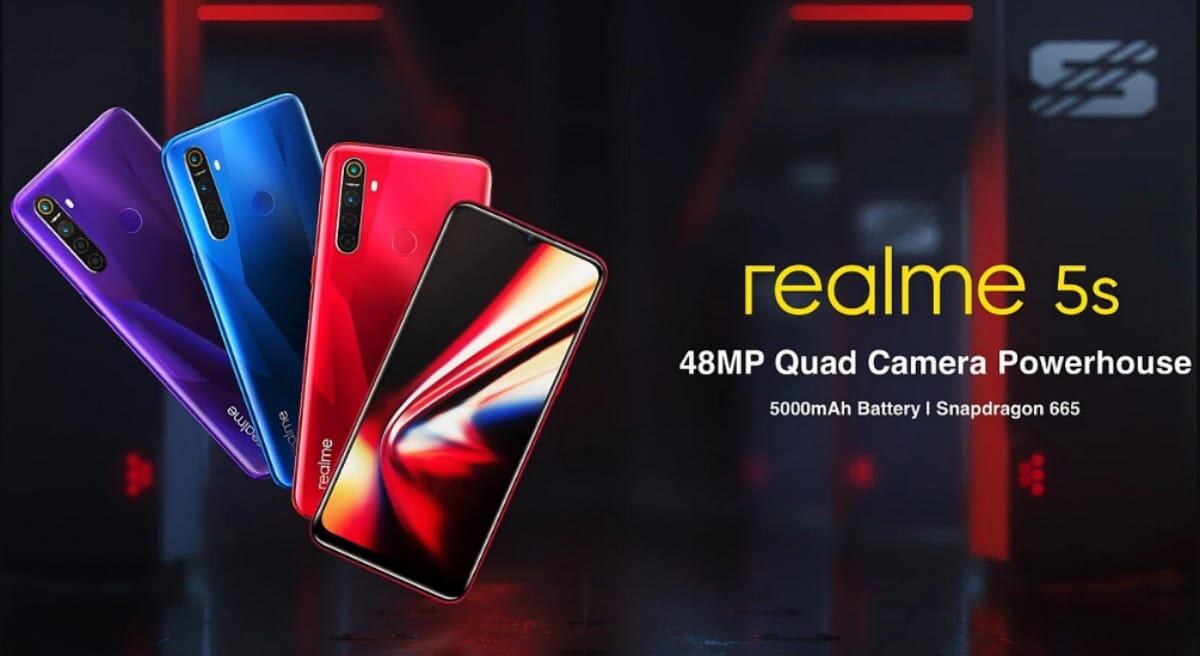 Realme 5S Now Official; Essentially realme 5 With 48MP Camera