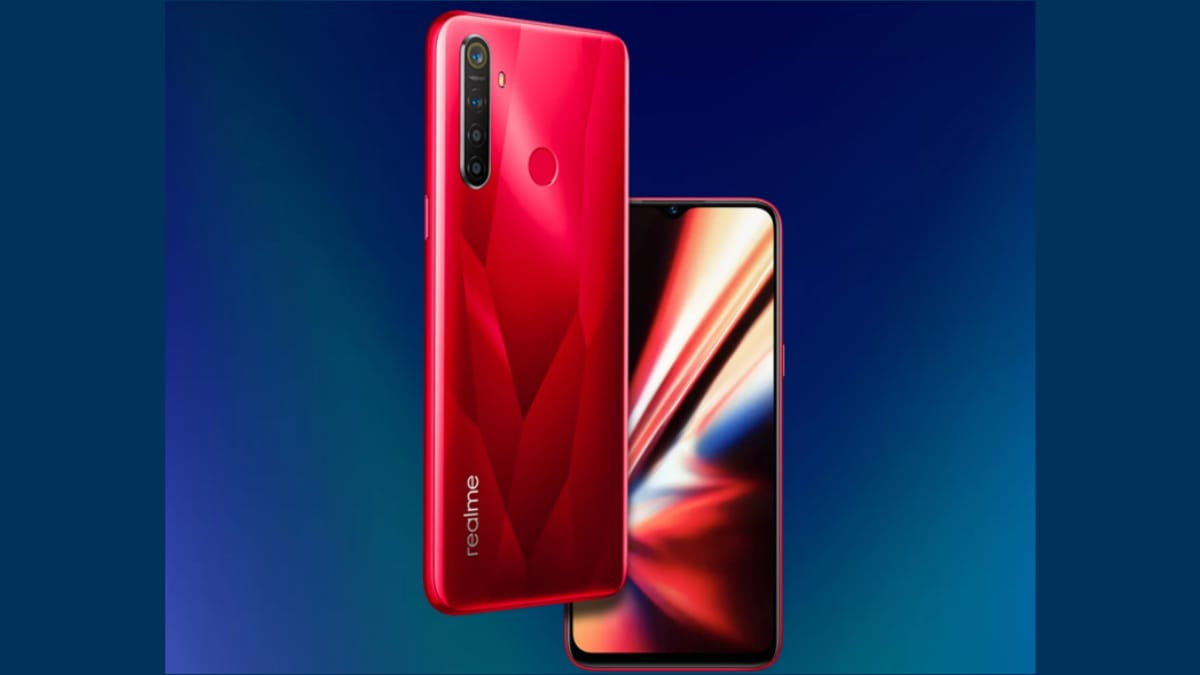 Realme 5s Teased to Sport Waterdrop-Style Notch Display Ahead of Launch Next Week