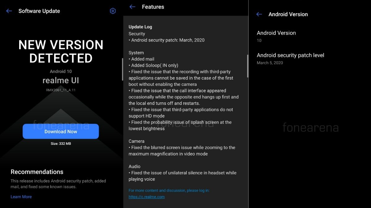 Realme 6 Pro Update Brings March 2020 Android Security Patch, Bug Fixes: Users Report