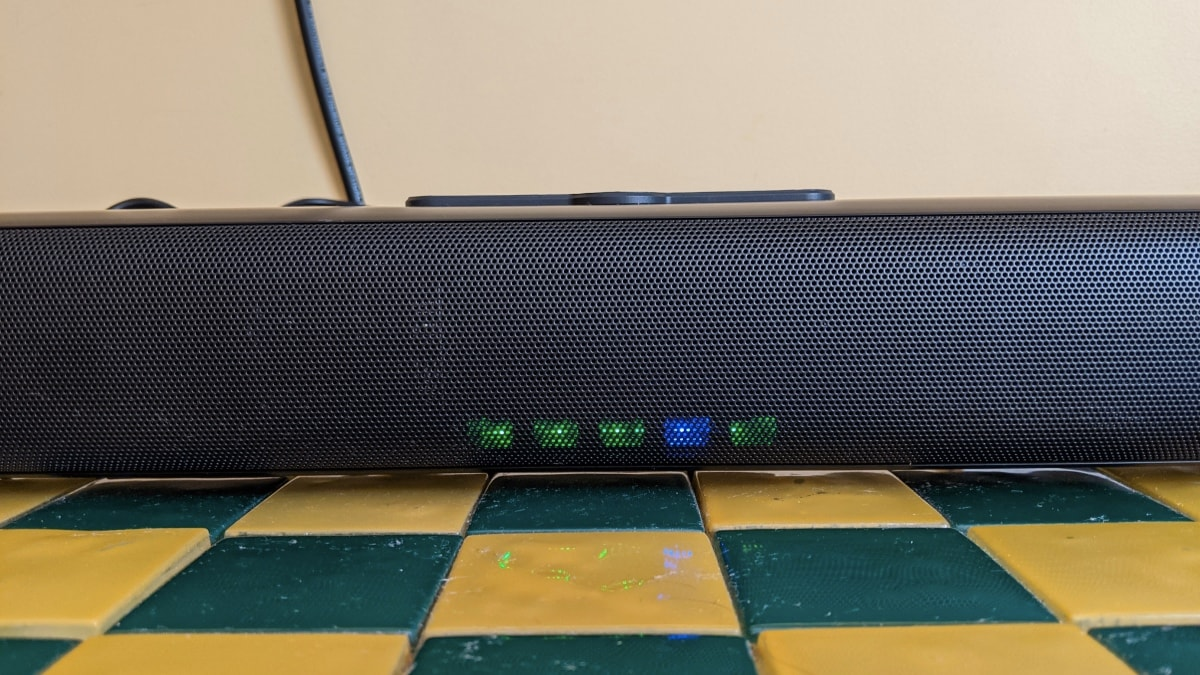 realme 100w soundbar review lights Realme