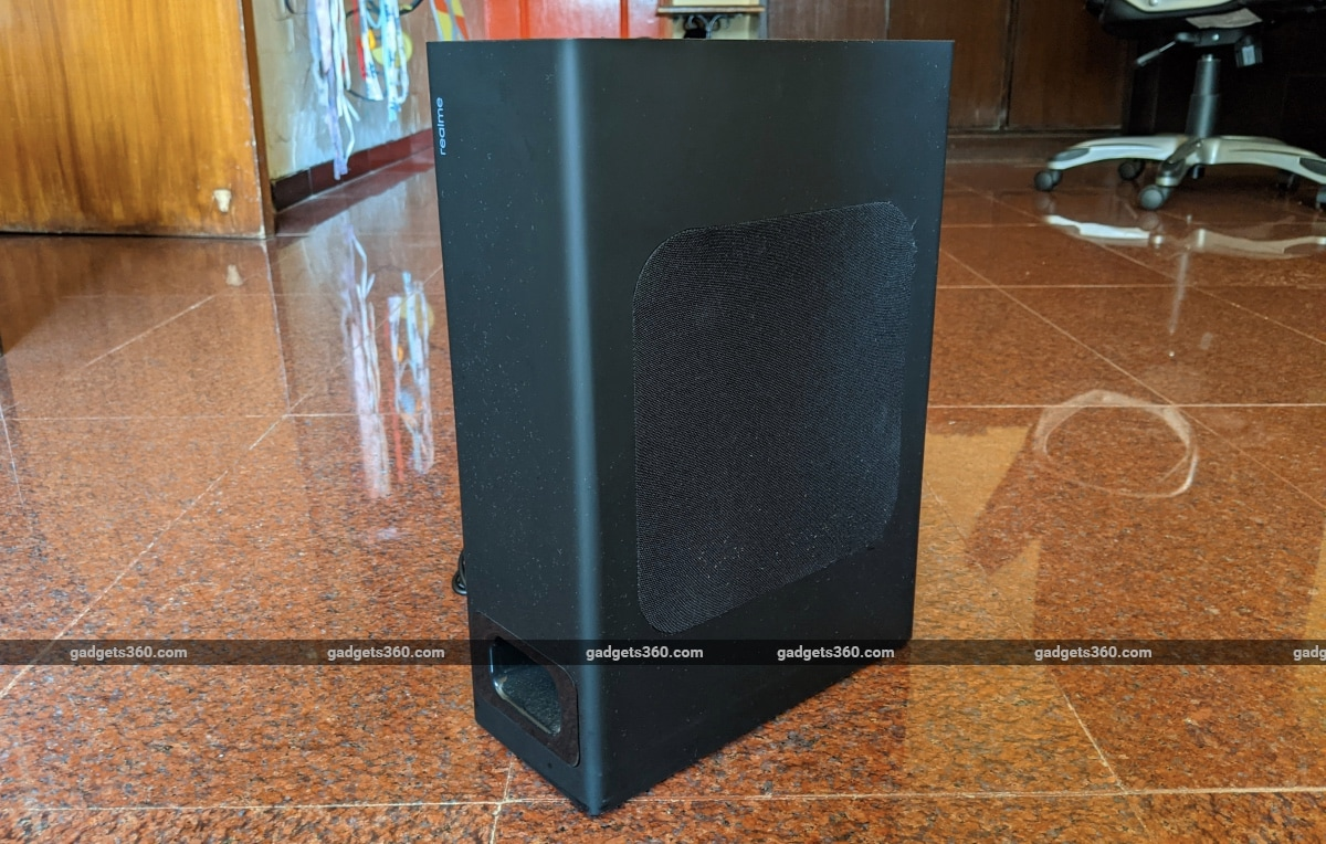 realme 100w soundbar review subwoofer Realme
