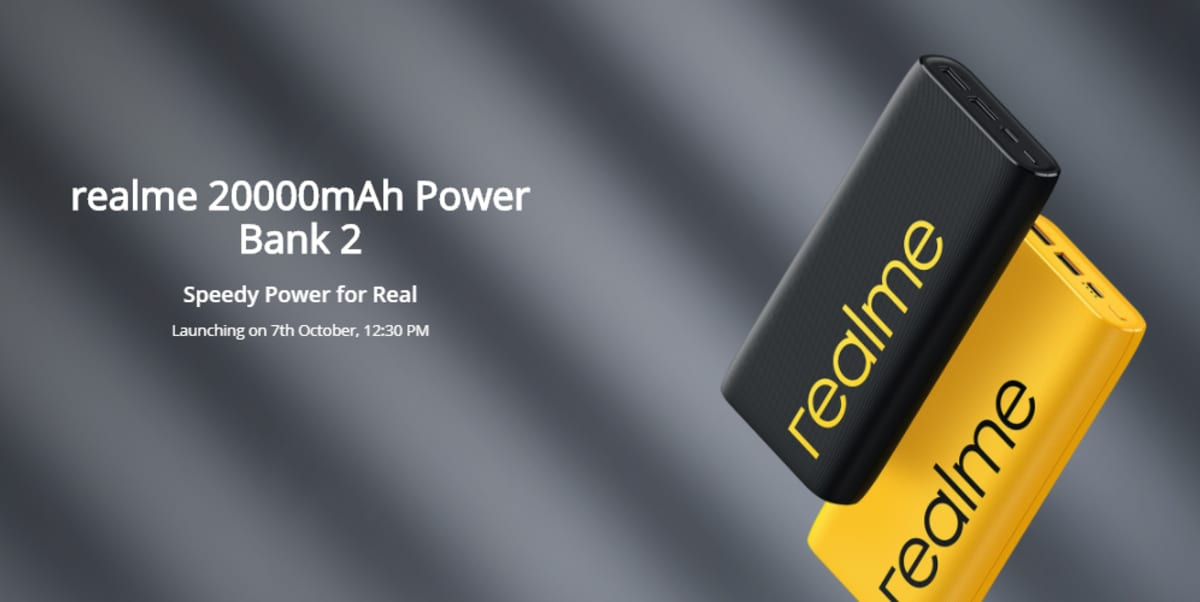 realme 20000 power bank 2 Realme 20 000mAh Power Bank 2