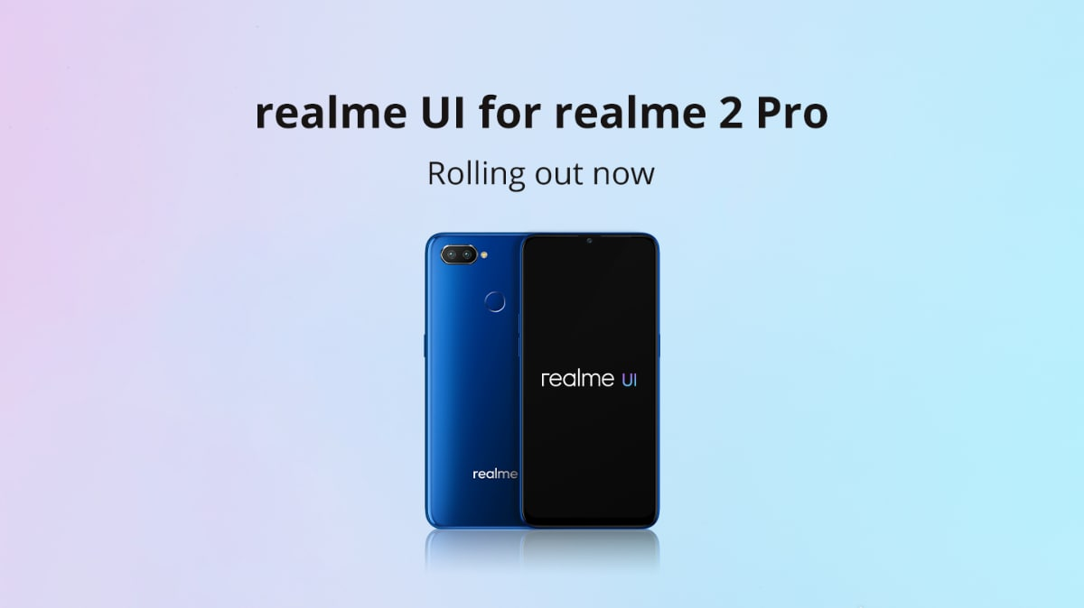 Image of article 'Realme 2 Pro Starts Receiving Android 10-Based Realme UI Update in India'