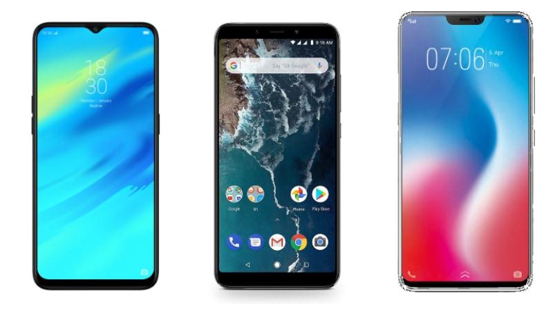 Realme 2 Pro vs Xiaomi Mi A2 vs Vivo V9 Pro: Price in India, Specifications Compared