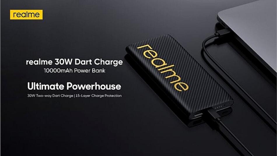 Realme 30W Dart Power Bank भारत में 14 जुलाई को होगा लॉन्च