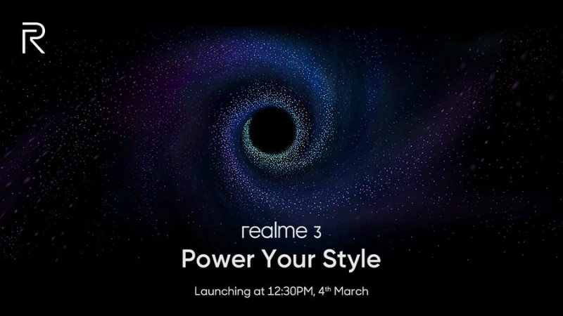 This upcoming mobile scream volition hold upwards launched on  Oppo Realme iii launch appointment is straightaway 100% confirmed
