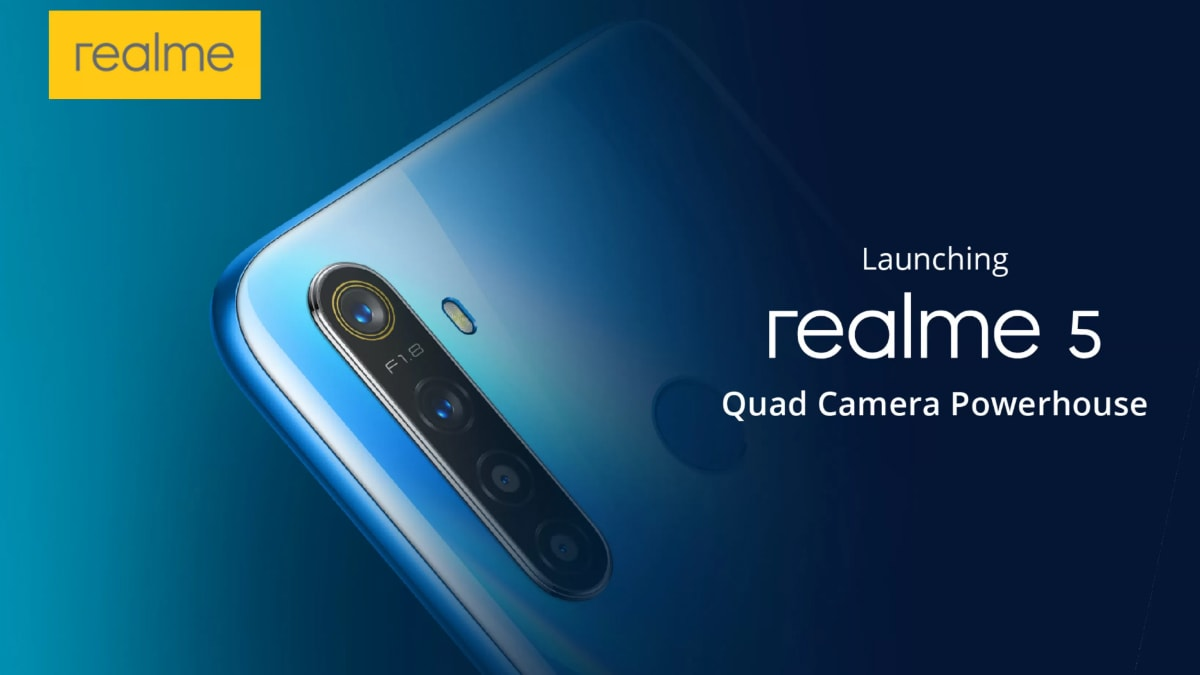 Realme 5, Realme 5 Pro India Launch Today: How to Live Stream, Expected Price, Specifications, and More, Next TGP