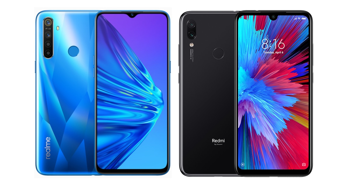 Realme 5 vs Redmi Note 7S: Price in India, Specifications Compared