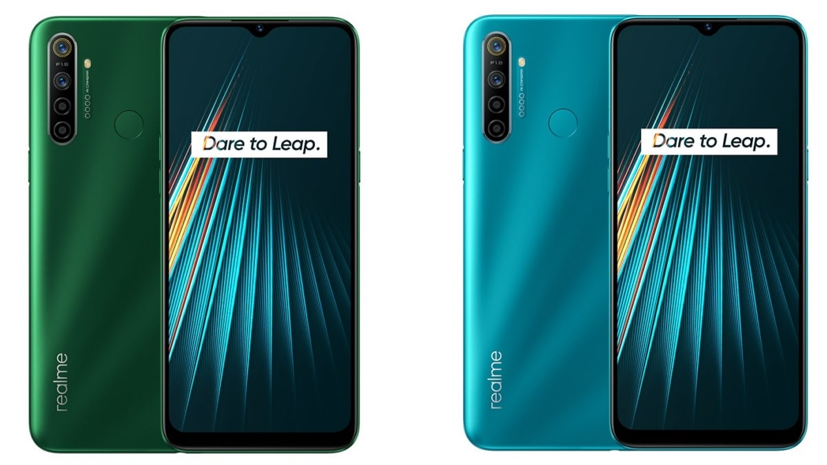 Realme 5i With 5,000mAh Battery, Quad Rear Camera Setup Launched: Price, Specifications