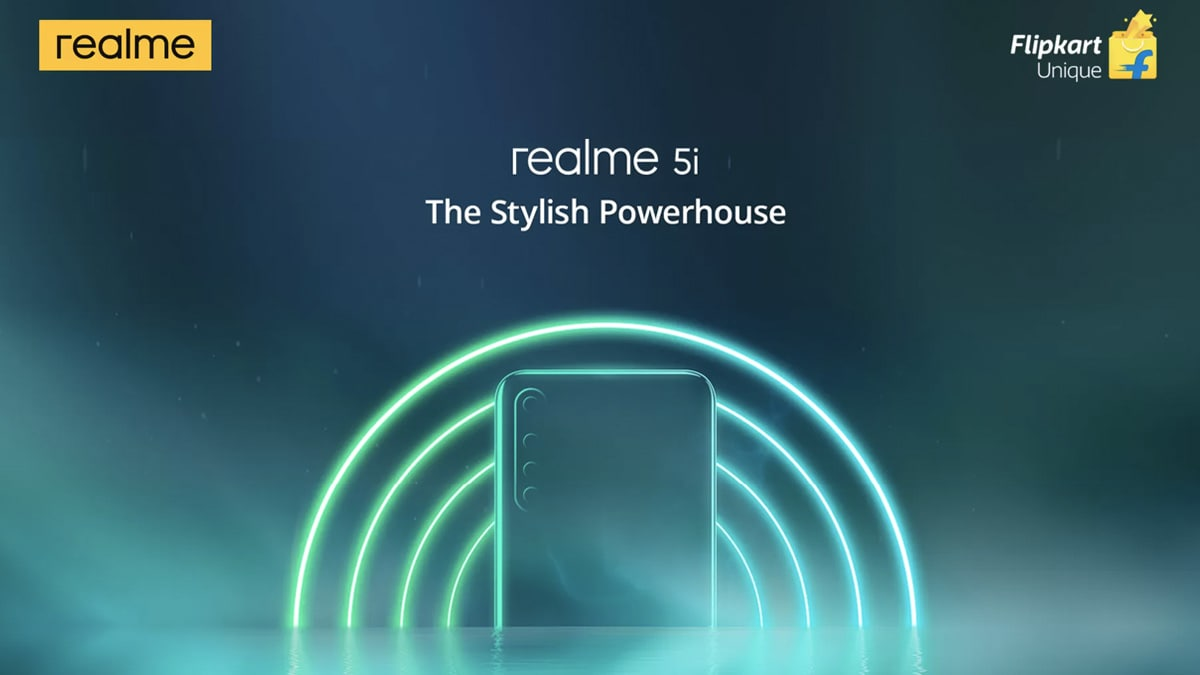 Realme 5i India Launch Set for January 9, Gets Teased on Flipkart