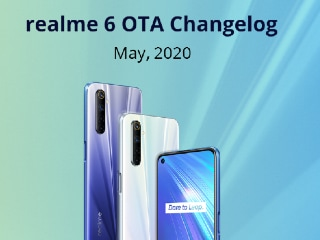Realme 6 Gets April 2020 Patch, Camera Improvements With New Update