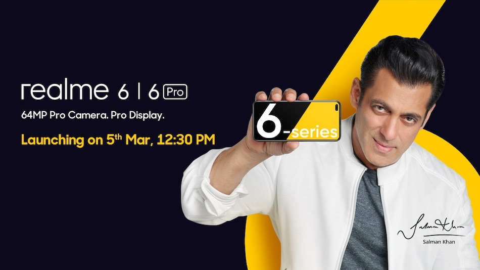 Realme 6 Pro, Realme 6 Launch Date in India Set for March 5, Features Teased