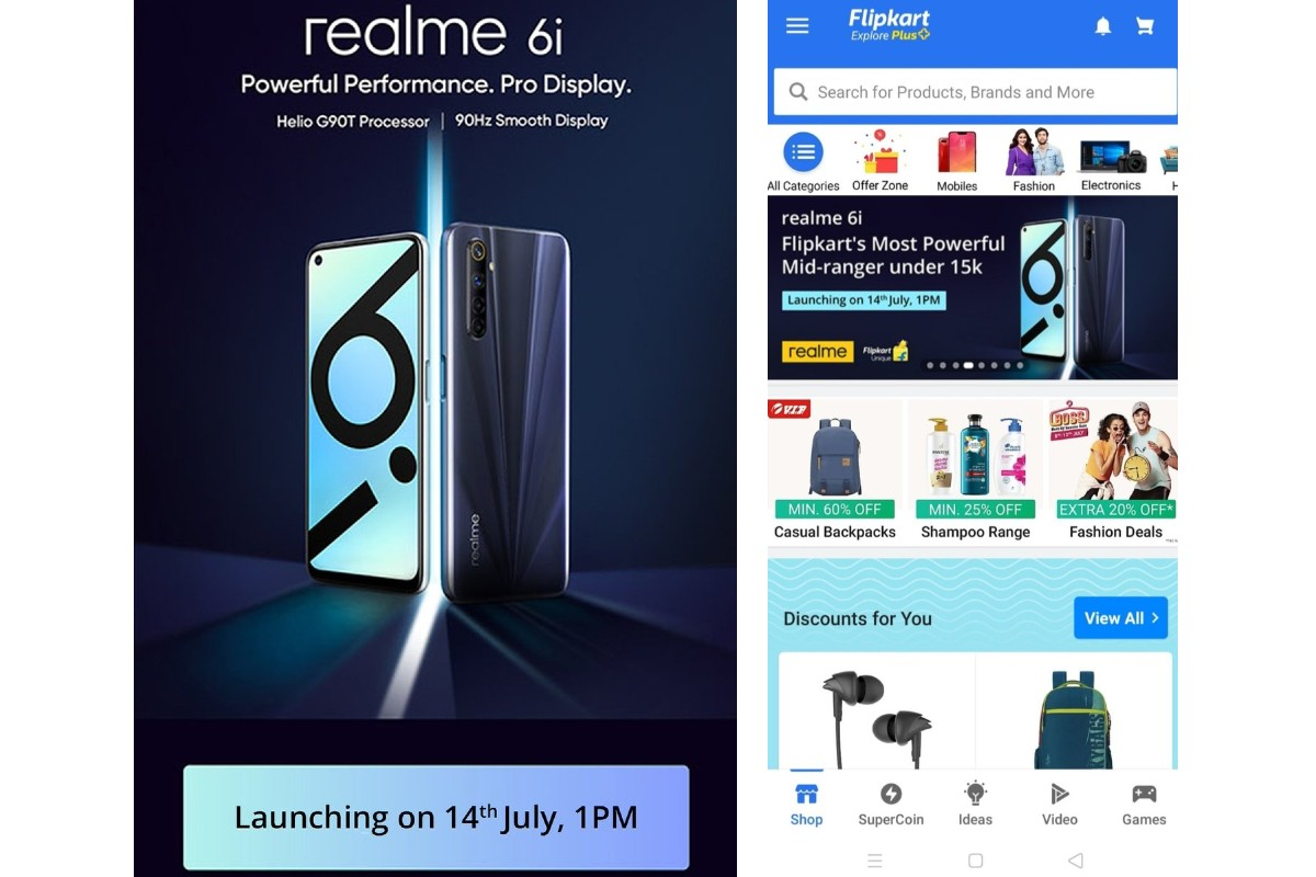 realme 6i listing flipkart twitter sudhanshu ambore Realme 6i