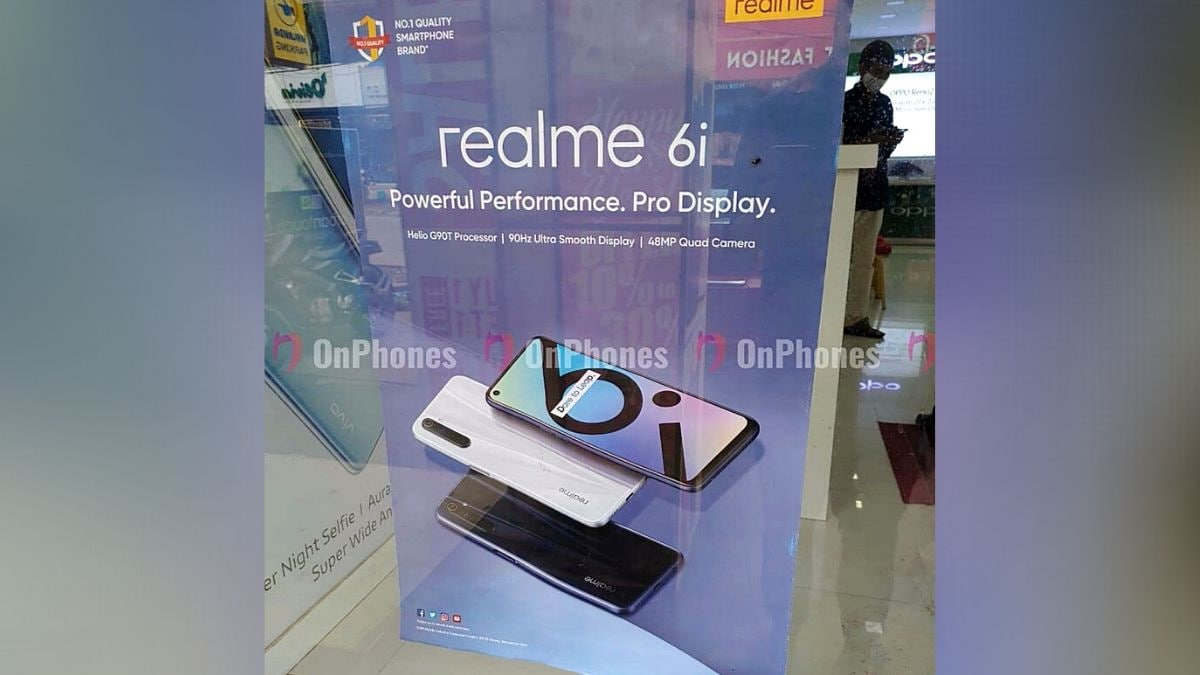 Realme 6i Said to Launch in India Soon as a Rebranded Realme 6s