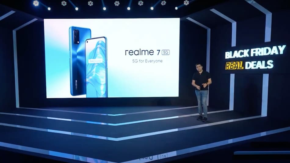 Realme 7 5G With MediaTek Dimensity 800U SoC, Quad Rear Cameras Launched: Price, Specifications