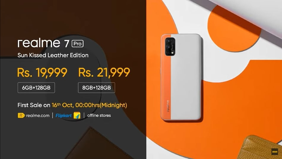 Realme 7 Pro Sun Kissed Leather Edition Launched in India: Price, Specifications