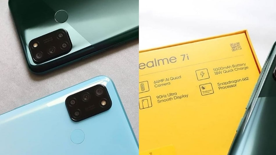 Realme 7i Live Images Surface Ahead of September 17 Launch, Specifications Tipped